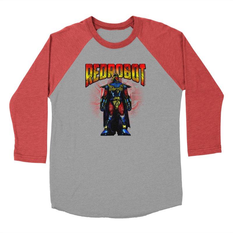 Red Robot Ronin Men's Longsleeve T-Shirt by Red Robot