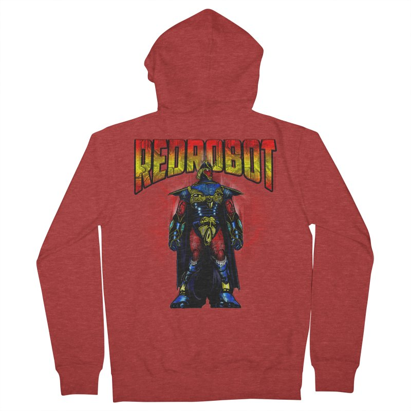 Red Robot Ronin Men's Zip-Up Hoody by Red Robot