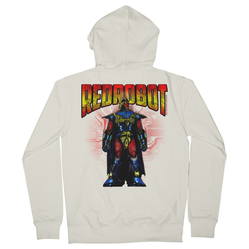 Red Robot Ronin Men's French Terry Zip-Up Hoody by Red Robot