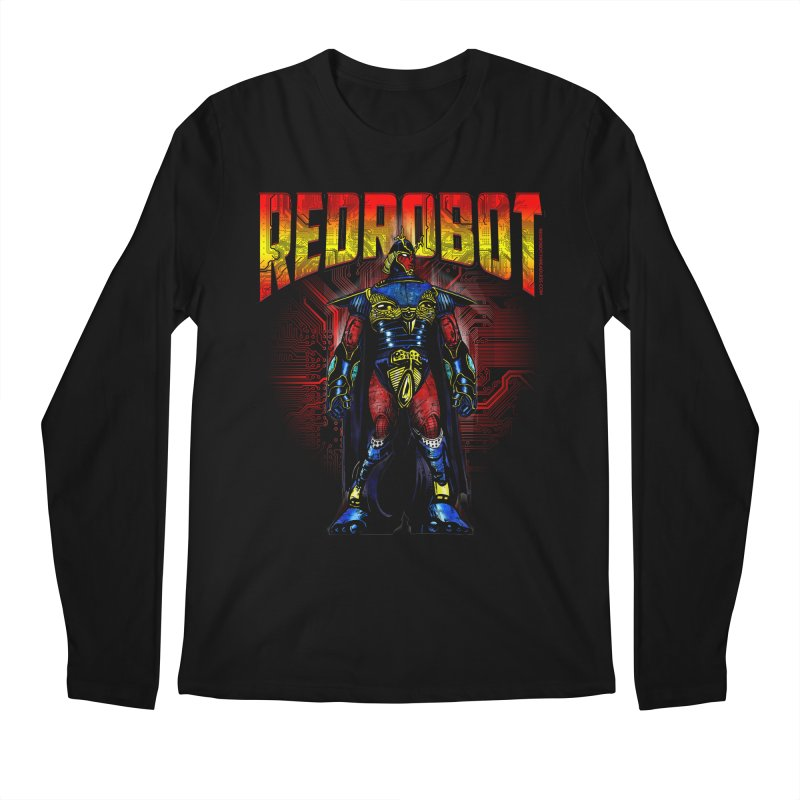 Red Robot Ronin Men's Regular Longsleeve T-Shirt by Red Robot