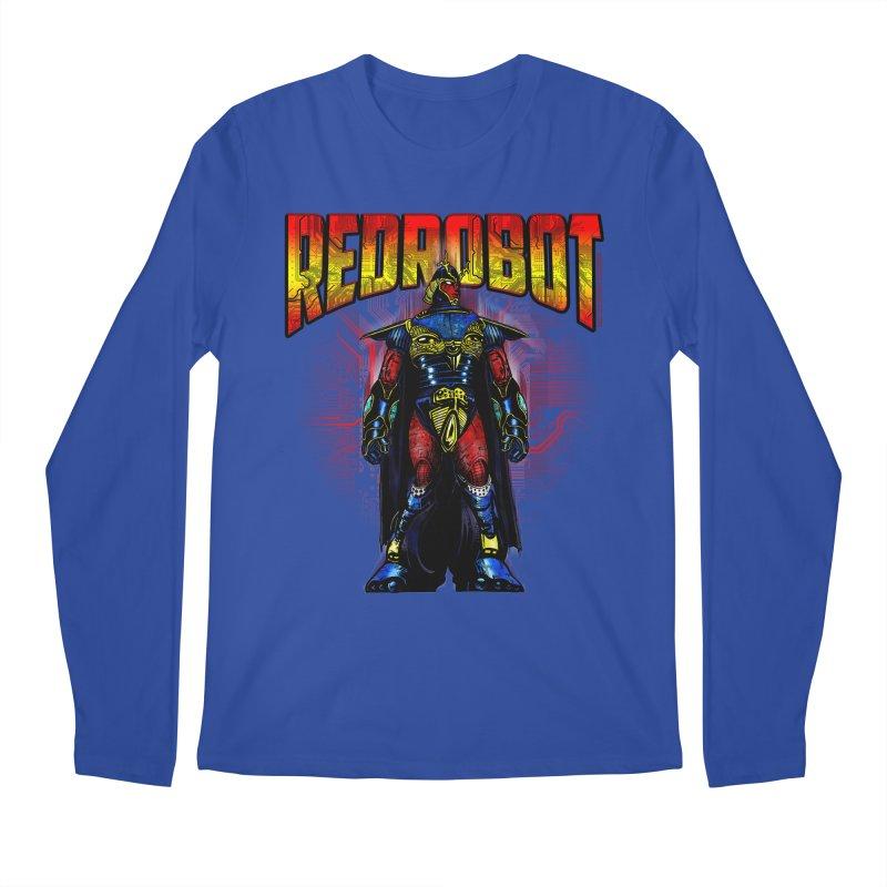 Red Robot Ronin Men's Regular Longsleeve T-Shirt by Red Robot