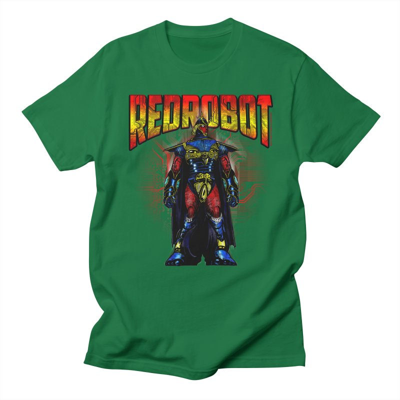 Red Robot Ronin Men's Regular T-Shirt by Red Robot
