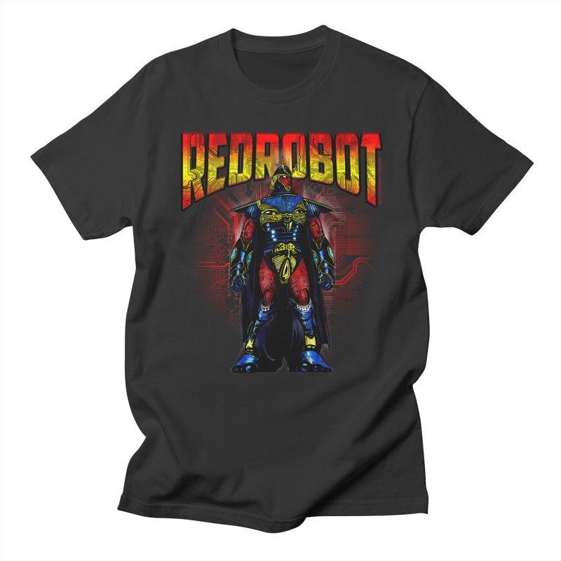 Red Robot Ronin Men's T-Shirt by Red Robot