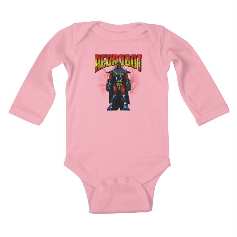 Red Robot Ronin Kids Baby Longsleeve Bodysuit by Red Robot
