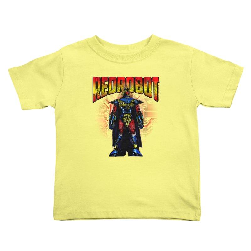 Red Robot Ronin Kids Toddler T-Shirt by Red Robot