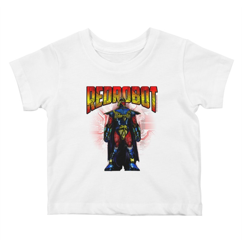 Red Robot Ronin Kids Baby T-Shirt by Red Robot