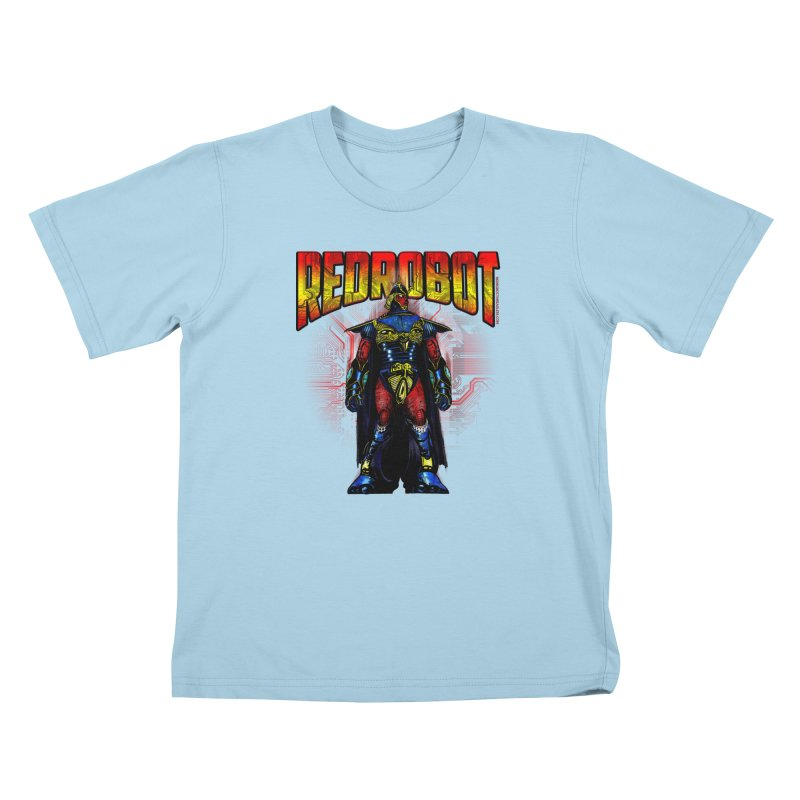 Red Robot Ronin Kids T-Shirt by Red Robot
