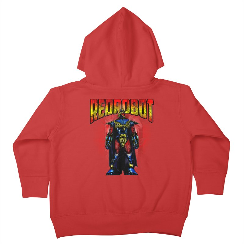 Red Robot Ronin Kids Toddler Zip-Up Hoody by Red Robot