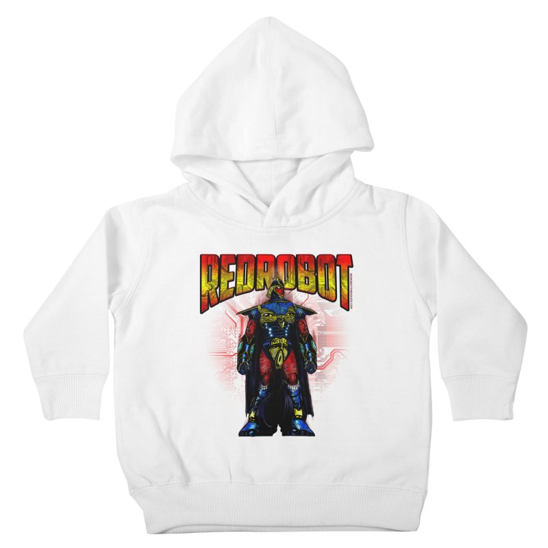 Red Robot Ronin Kids Toddler Pullover Hoody by Red Robot
