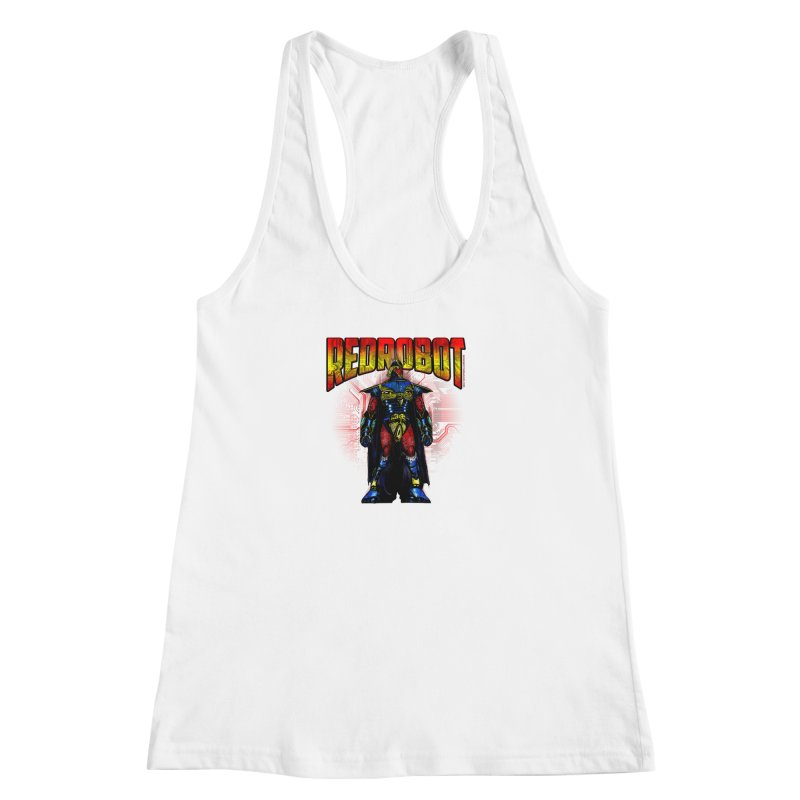 Red Robot Ronin Women's Racerback Tank by Red Robot