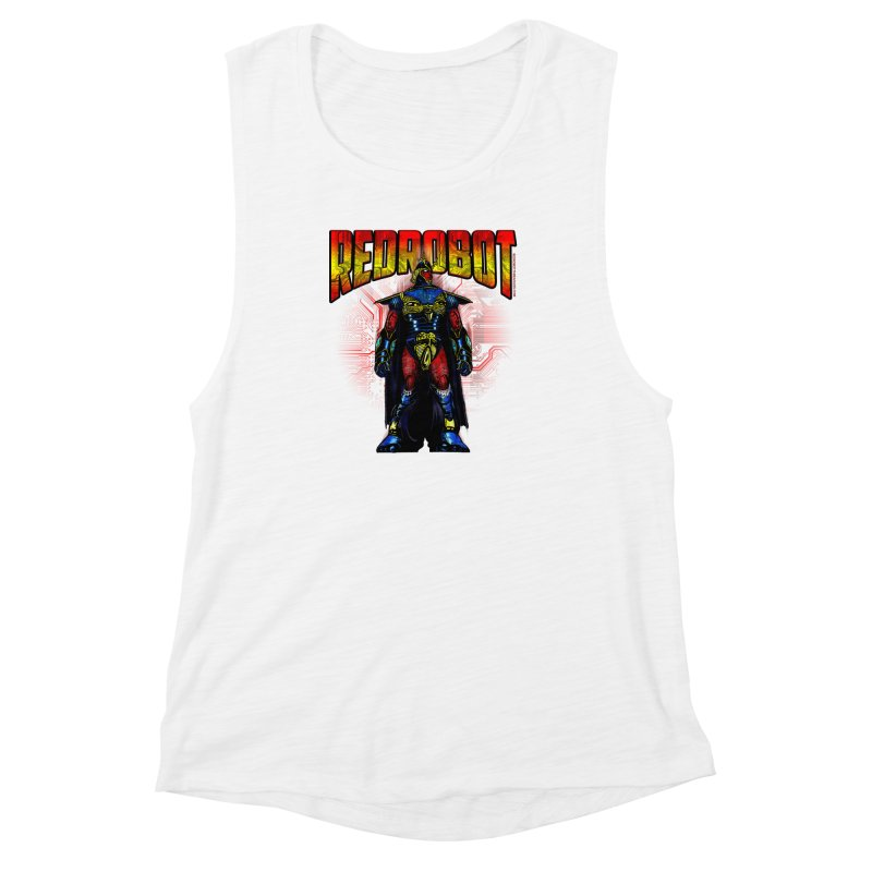 Red Robot Ronin Women's Muscle Tank by Red Robot