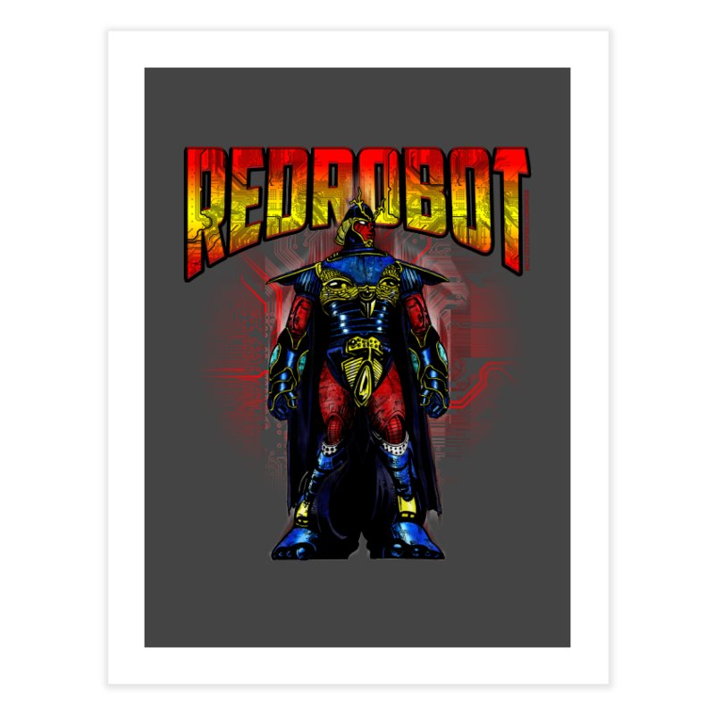 Red Robot Ronin Home Fine Art Print by Red Robot