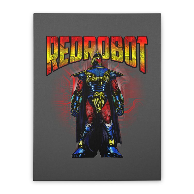 Red Robot Ronin Home Stretched Canvas by Red Robot