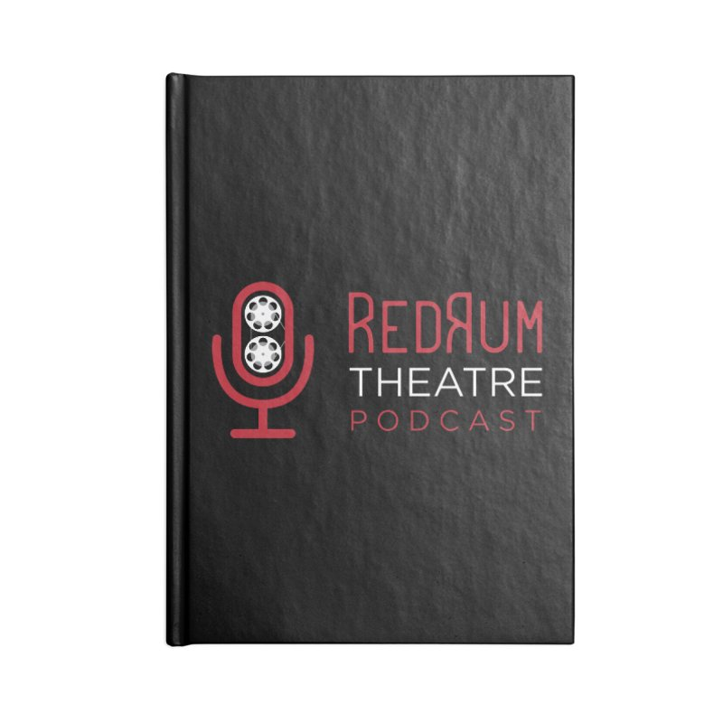 Redrum Classic Logo Accessories Blank Journal Notebook by redrum's Artist Shop