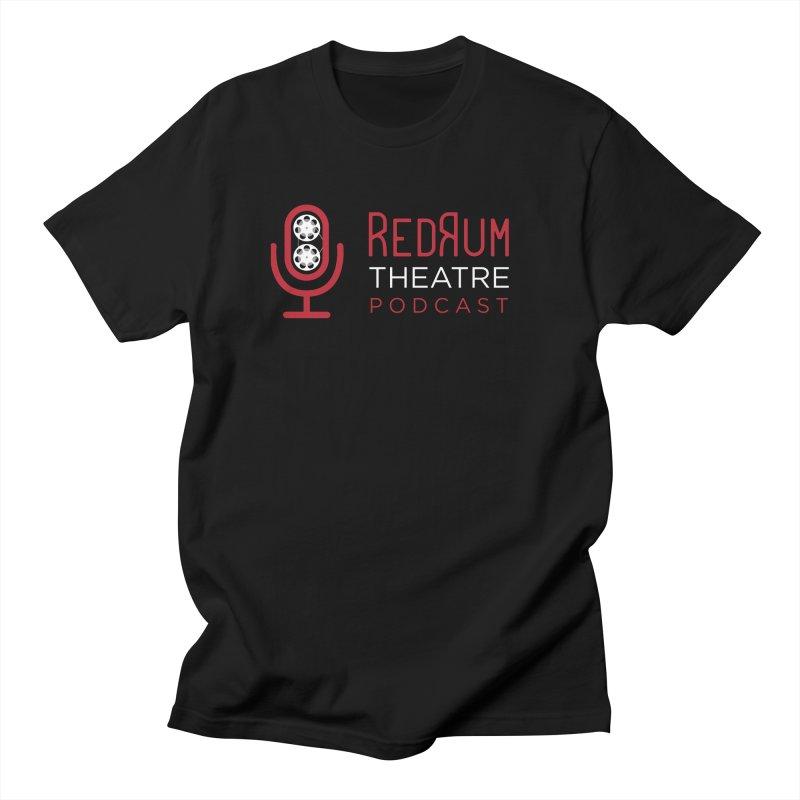 Redrum Classic Logo Men's T-Shirt by redrum's Artist Shop