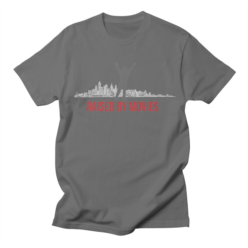 Raised by Movies Men's T-Shirt by redrum's Artist Shop