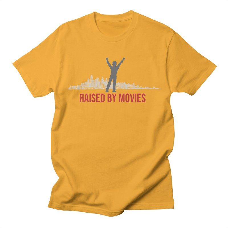 Raised by Movies Men's Regular T-Shirt by redrum's Artist Shop