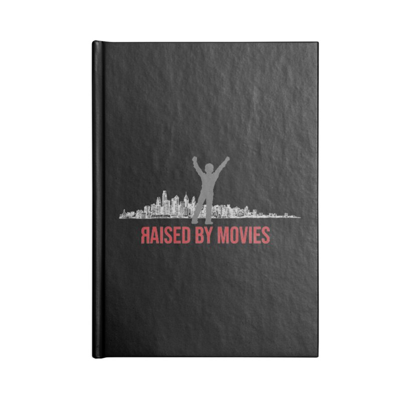 Raised by Movies Accessories Lined Journal Notebook by redrum's Artist Shop