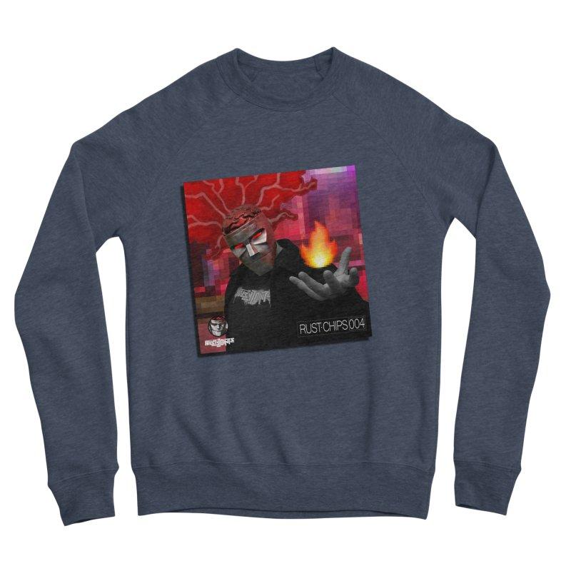 Rust Chips 004 (Cover Art) Men's Sponge Fleece Sweatshirt by Red Rust Rum - Shop