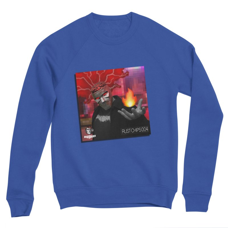 Rust Chips 004 (Cover Art) Men's Sponge Fleece Sweatshirt by Red Rust Rum - Shop
