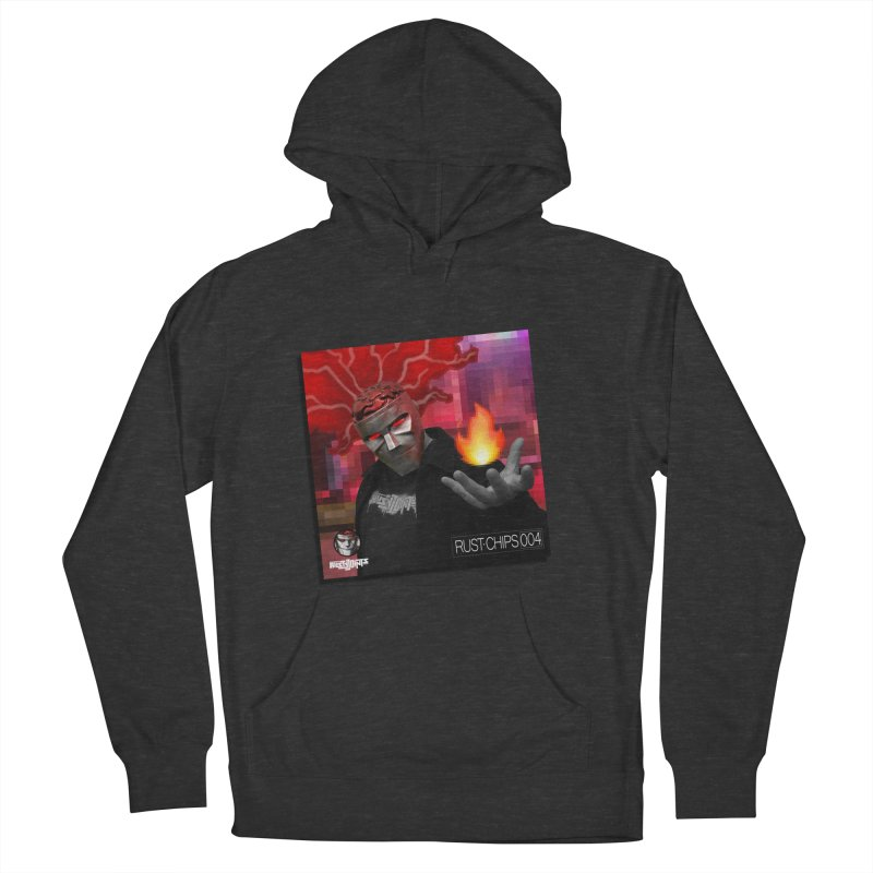 Rust Chips 004 (Cover Art) Men's French Terry Pullover Hoody by Red Rust Rum - Shop