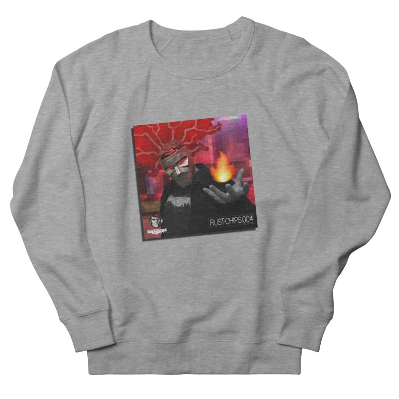 Rust Chips 004 (Cover Art) Men's French Terry Sweatshirt by Red Rust Rum - Shop