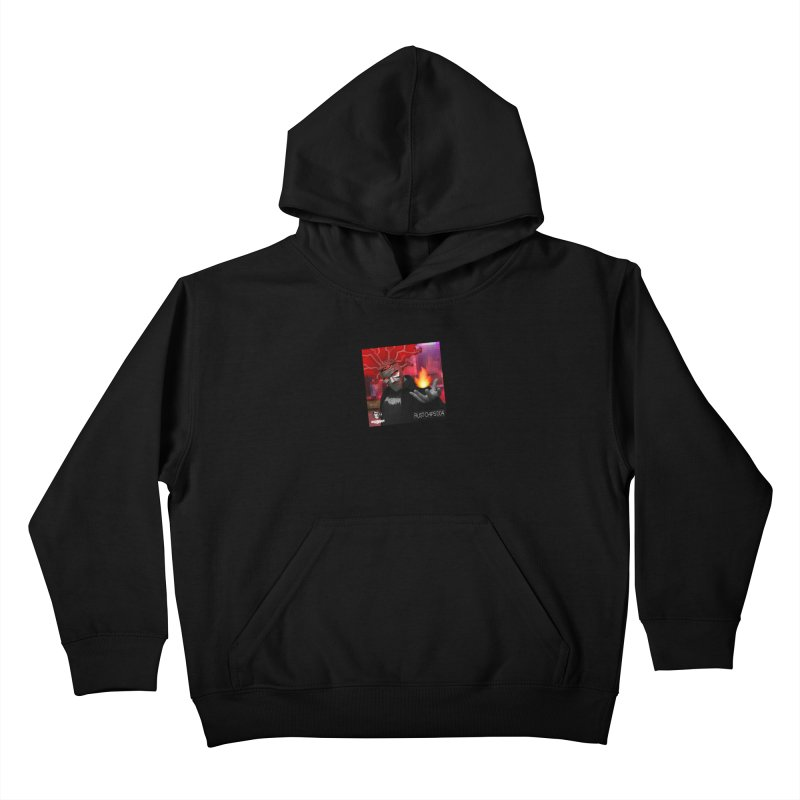 Rust Chips 004 (Cover Art) Kids Pullover Hoody by Red Rust Rum - Shop