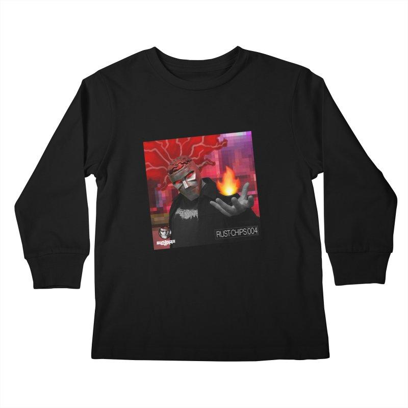 Rust Chips 004 (Cover Art) Kids Longsleeve T-Shirt by Red Rust Rum - Shop