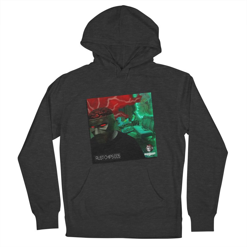 Rust Chips 005 (Cover Art) Men's French Terry Pullover Hoody by Red Rust Rum - Shop