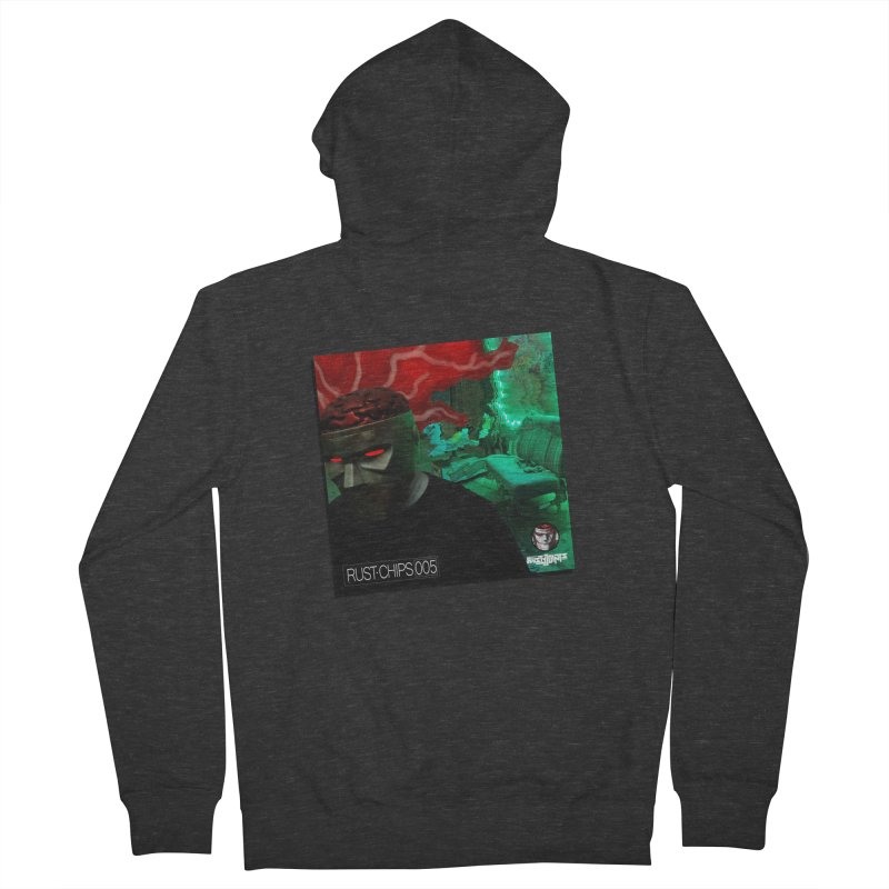 Rust Chips 005 (Cover Art) Men's French Terry Zip-Up Hoody by Red Rust Rum - Shop