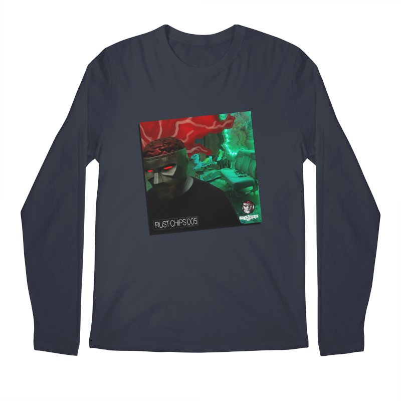 Rust Chips 005 (Cover Art) Men's Regular Longsleeve T-Shirt by Red Rust Rum - Shop