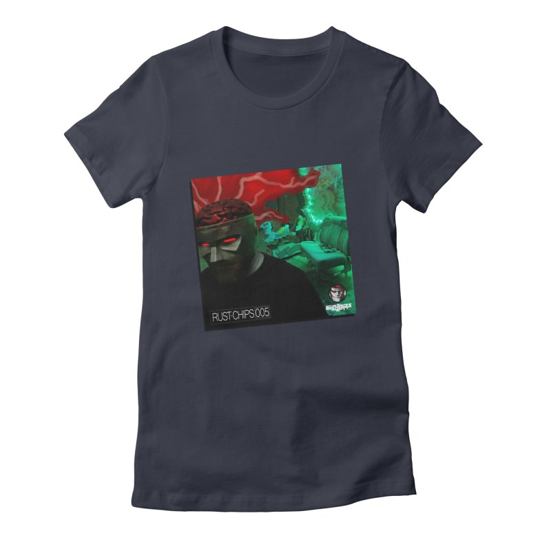 Rust Chips 005 (Cover Art) Women's Fitted T-Shirt by Red Rust Rum - Shop