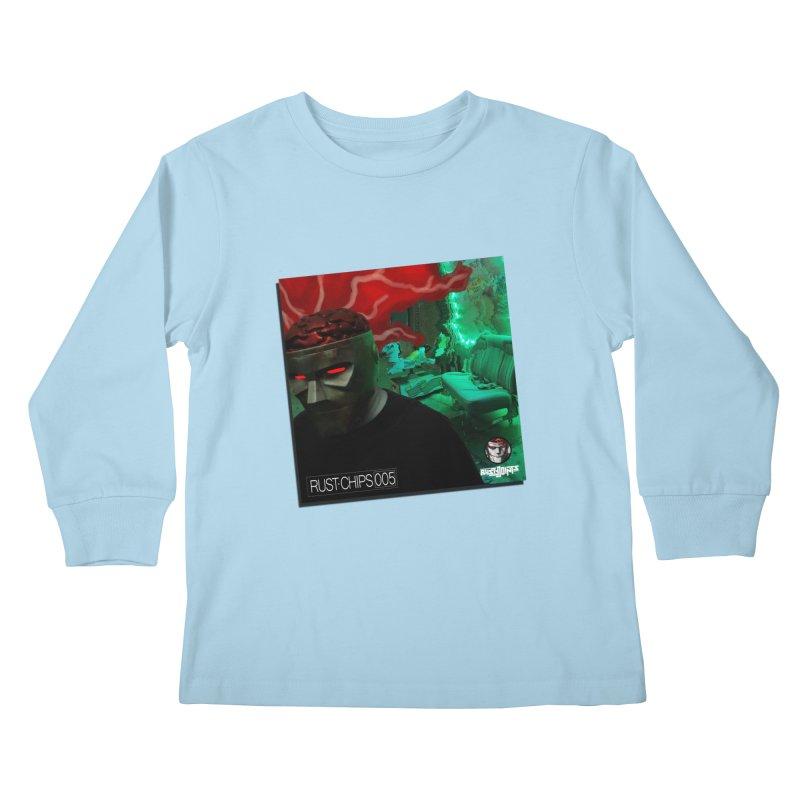 Rust Chips 005 (Cover Art) Kids Longsleeve T-Shirt by Red Rust Rum - Shop