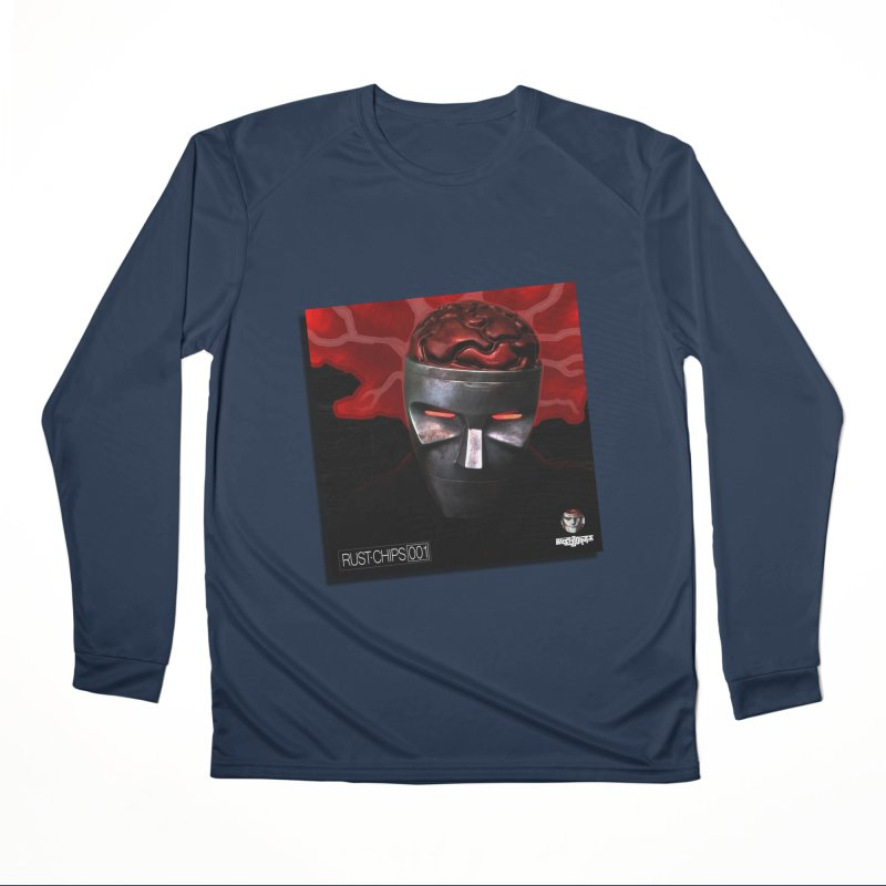Rust Chips 001 (cover art) Men's Performance Longsleeve T-Shirt by Red Rust Rum - Shop