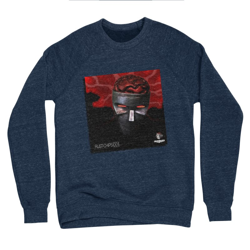 Rust Chips 001 (cover art) Men's Sponge Fleece Sweatshirt by Red Rust Rum - Shop