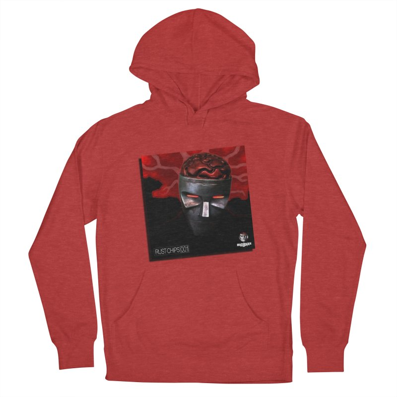 Rust Chips 001 (cover art) Men's French Terry Pullover Hoody by Red Rust Rum - Shop