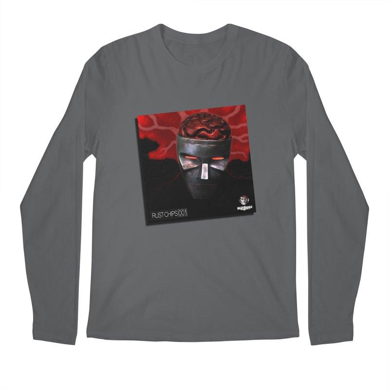 Rust Chips 001 (cover art) Men's Longsleeve T-Shirt by Red Rust Rum - Shop