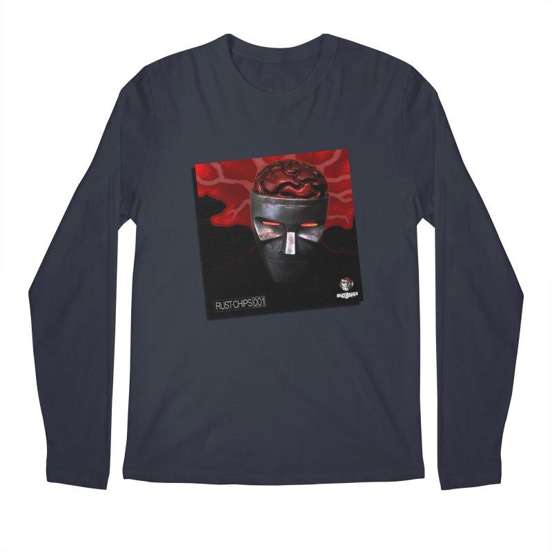 Rust Chips 001 (cover art) Men's Regular Longsleeve T-Shirt by Red Rust Rum - Shop