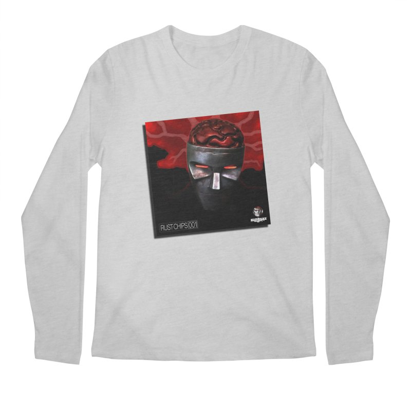 Rust Chips 001 (cover art) Men's Regular Longsleeve T-Shirt by Red Rust Rum - Shop