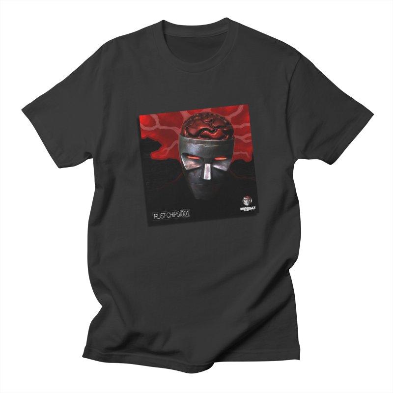 Rust Chips 001 (cover art) Men's Regular T-Shirt by Red Rust Rum - Shop