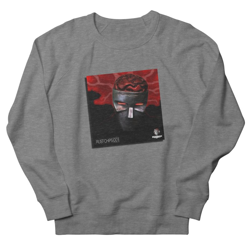 Rust Chips 001 (cover art) Men's French Terry Sweatshirt by Red Rust Rum - Shop
