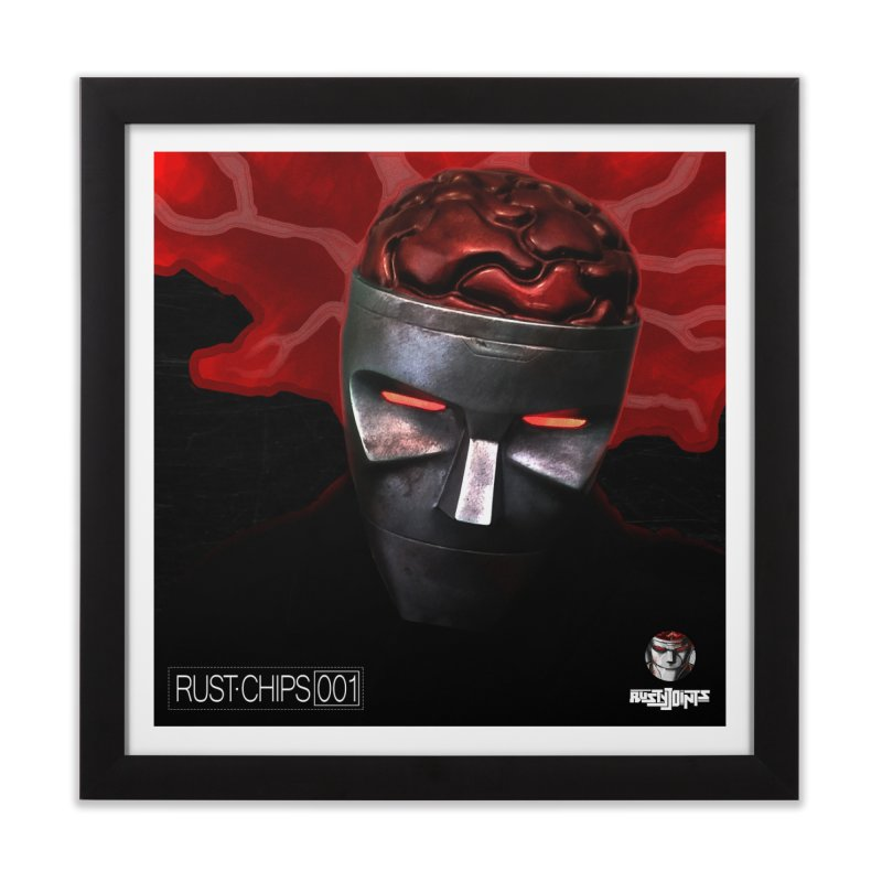 Rust Chips 001 (cover art) Home Framed Fine Art Print by Red Rust Rum - Shop