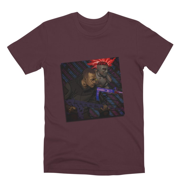 Kill Or Die (Cover Art) Men's Premium T-Shirt by Red Rust Rum - Shop