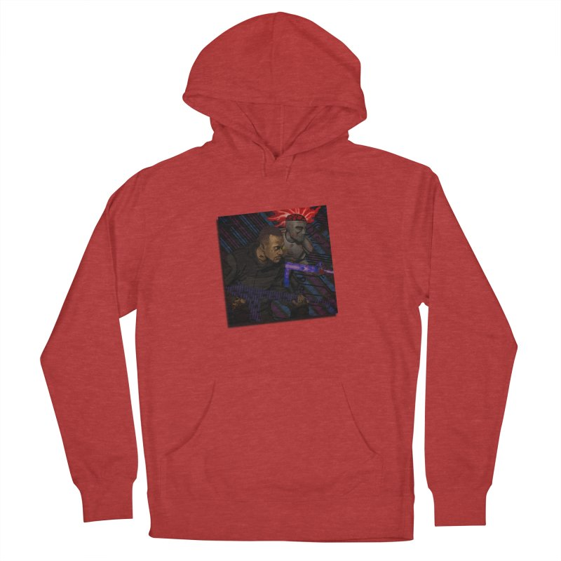 Kill Or Die (Cover Art) Men's French Terry Pullover Hoody by Red Rust Rum - Shop