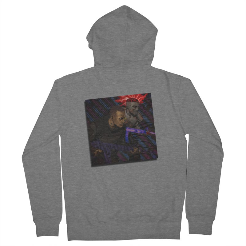 Kill Or Die (Cover Art) Men's French Terry Zip-Up Hoody by Red Rust Rum - Shop