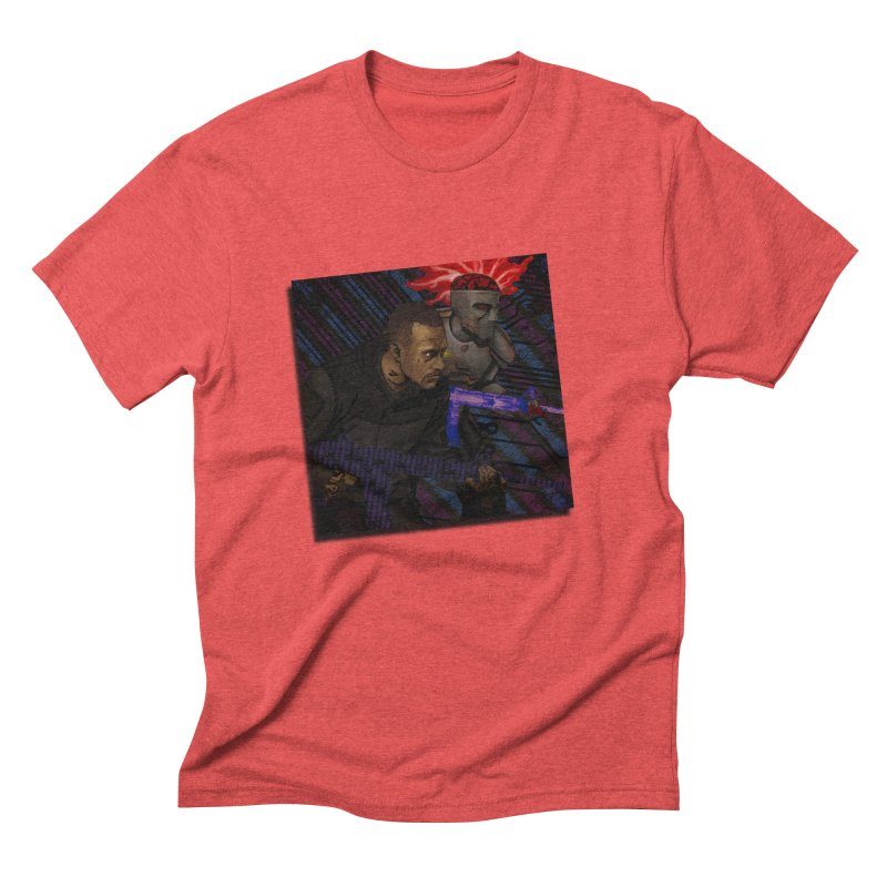Kill Or Die (Cover Art) Men's Triblend T-Shirt by Red Rust Rum - Shop