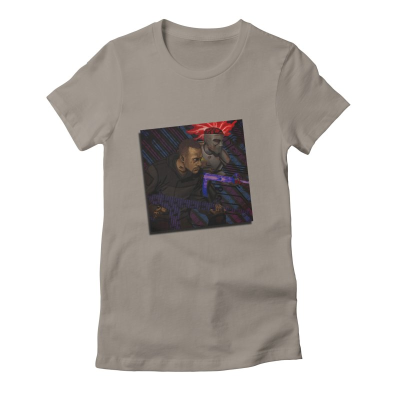 Kill Or Die (Cover Art) Women's Fitted T-Shirt by Red Rust Rum - Shop