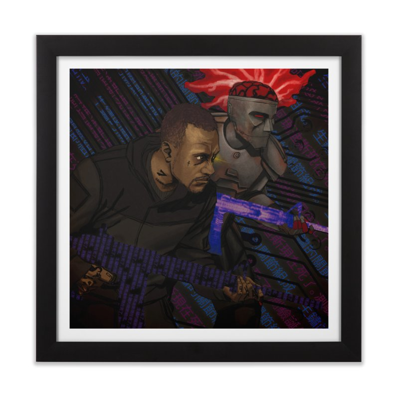 Kill Or Die (Cover Art) Home Framed Fine Art Print by Red Rust Rum - Shop