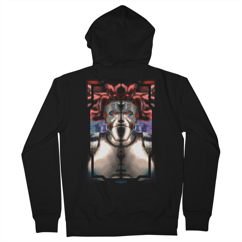 The Calm After The Chaos Men's French Terry Zip-Up Hoody by Red Rust Rum - Shop