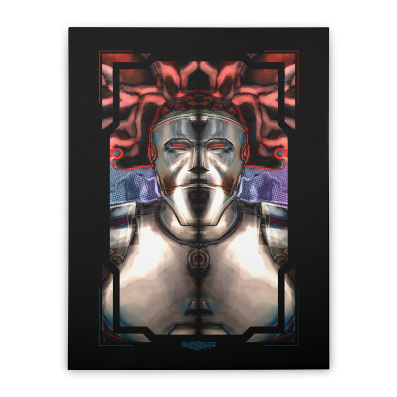 The Calm After The Chaos Home Stretched Canvas by Red Rust Rum - Shop